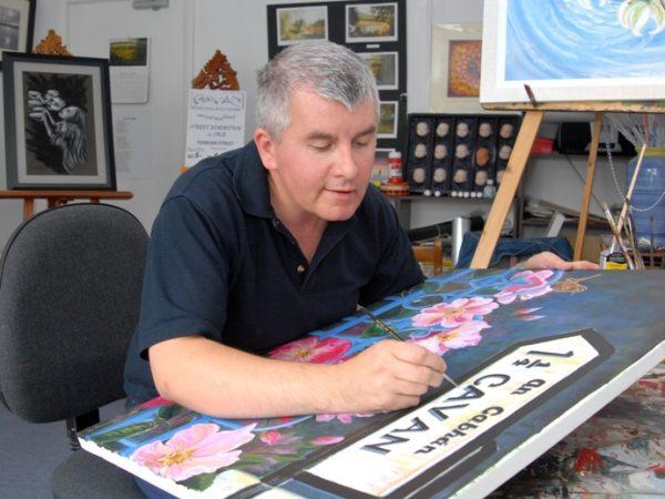 Sean Cassidy Artist